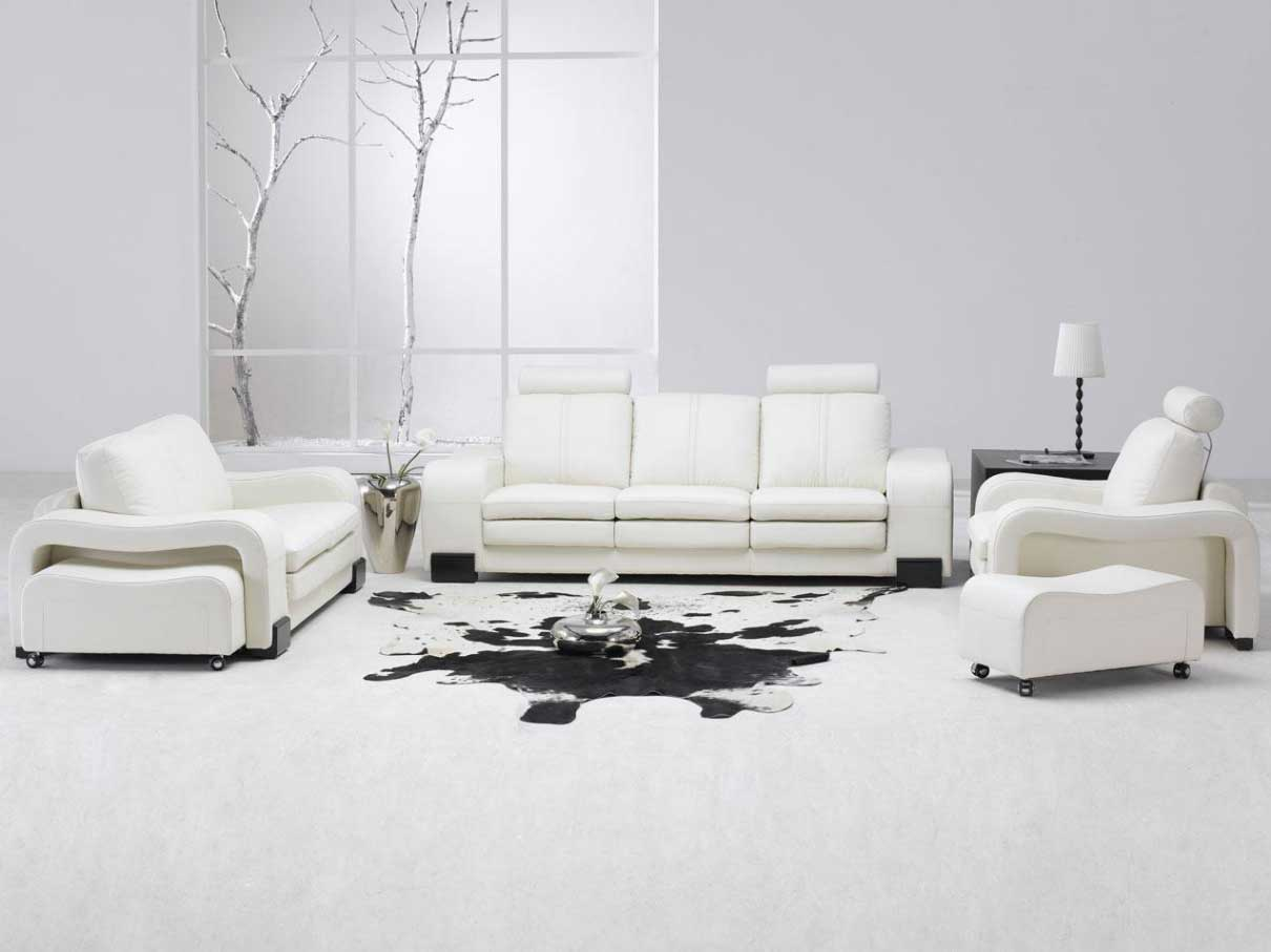 room designs with white furniture photo - 2