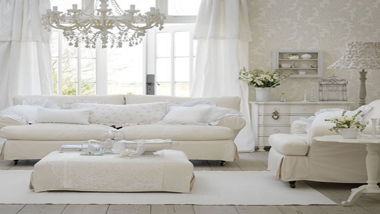 room designs with white furniture photo - 3