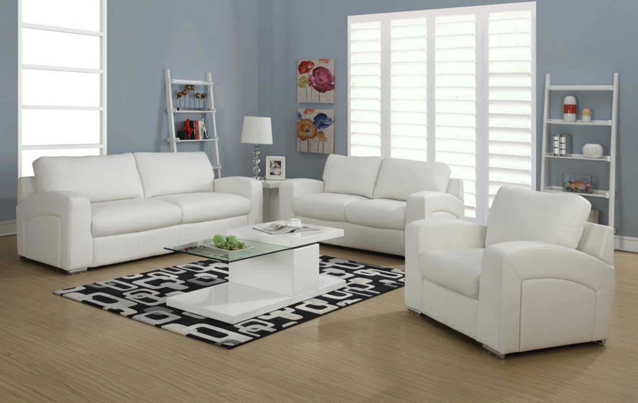 room designs with white furniture photo - 4
