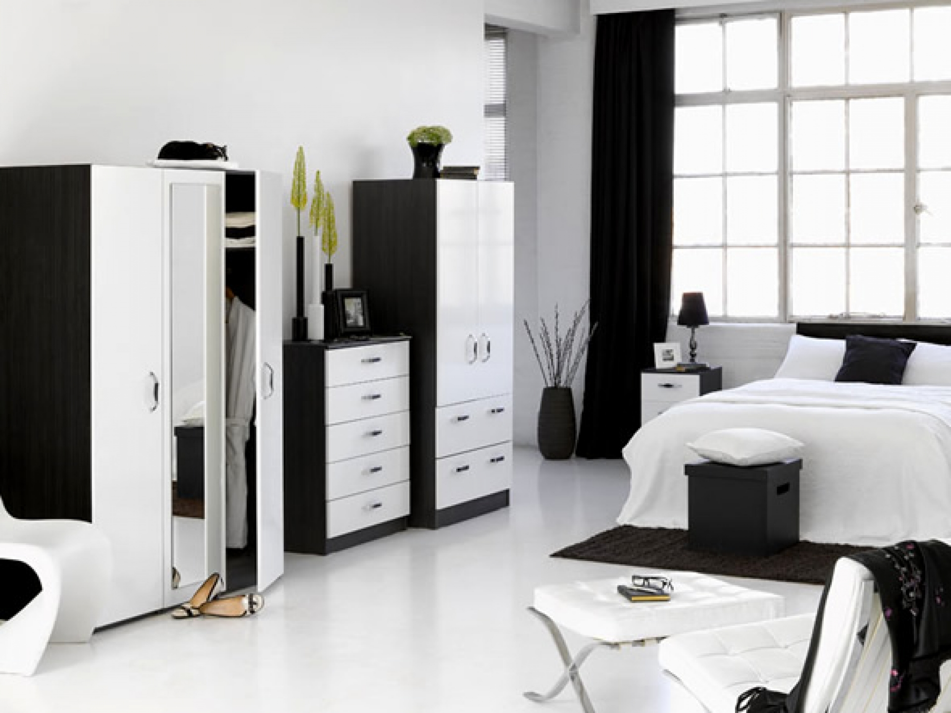 room designs with white furniture photo - 8