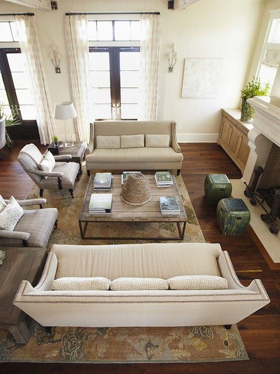 room furniture placement ideas photo - 9