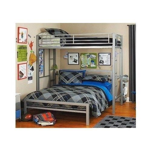 silver metal bedroom sets photo - 6