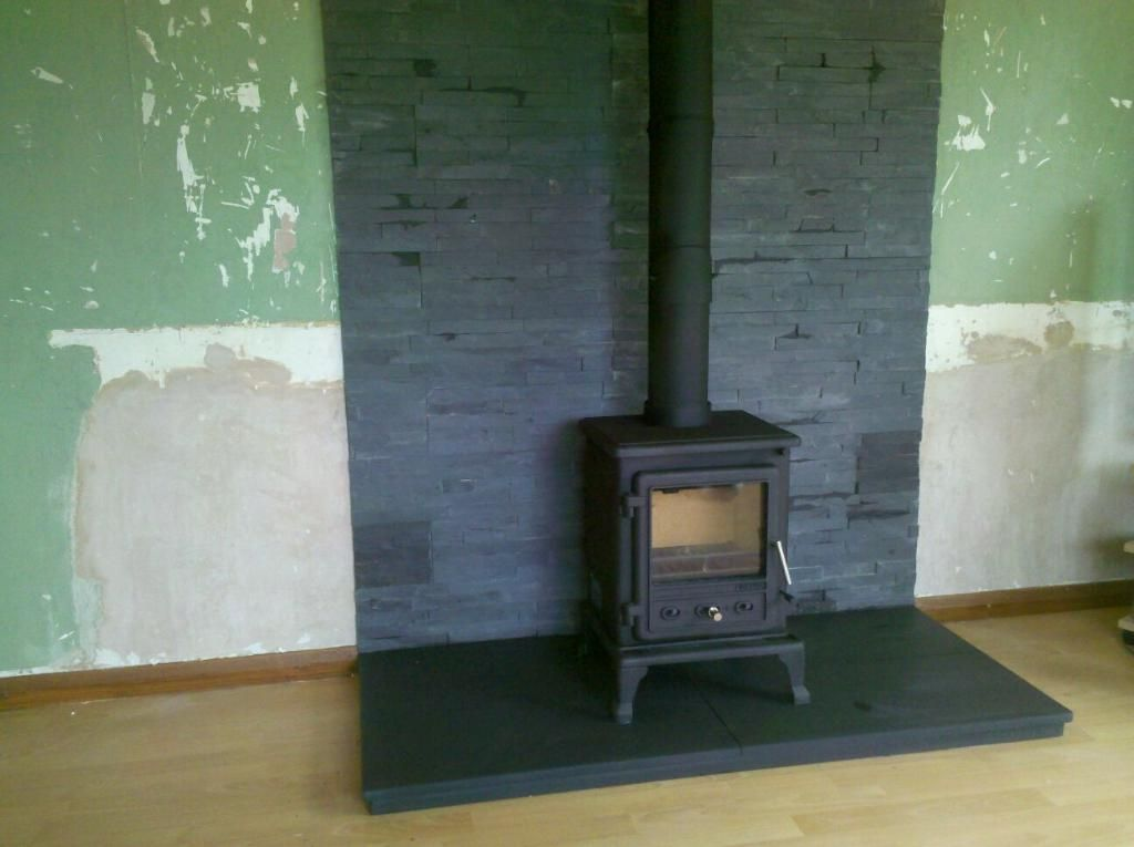 slate tiles for a hearth photo - 10