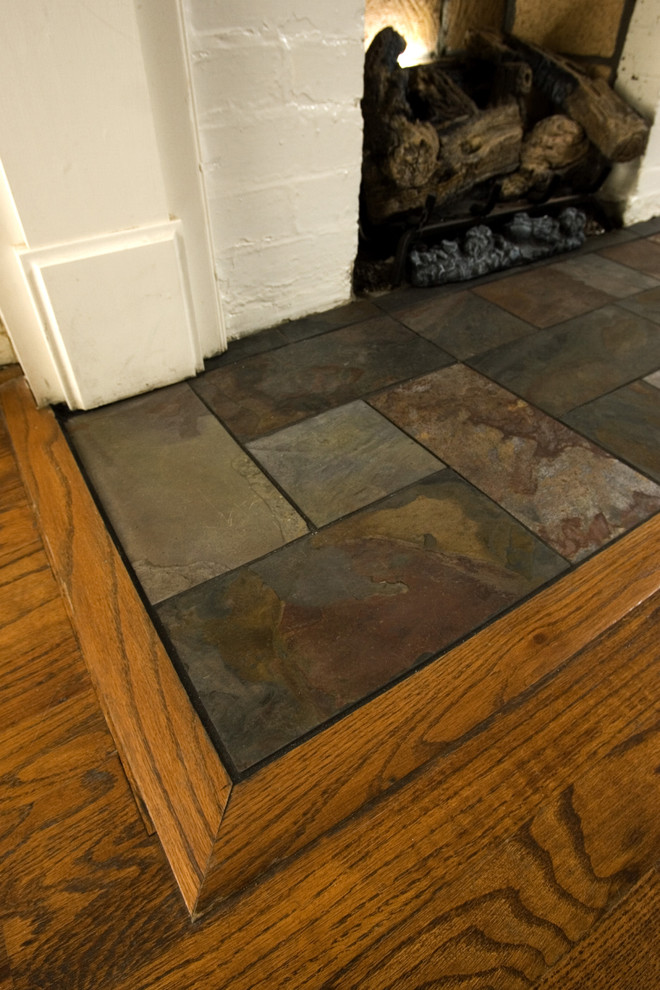 slate tiles for a hearth photo - 7