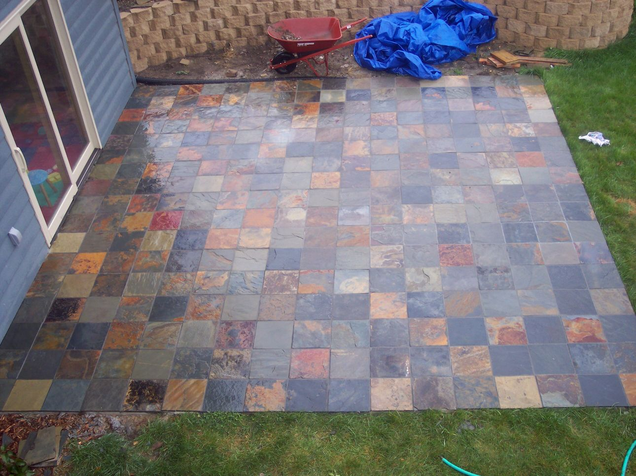 slate tiles for a patio photo - 6