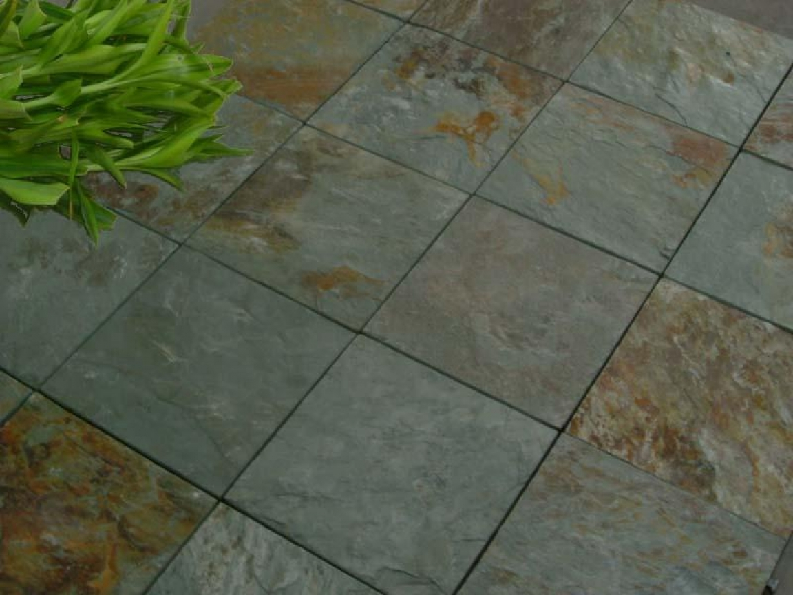 slate tiles for a patio photo - 7