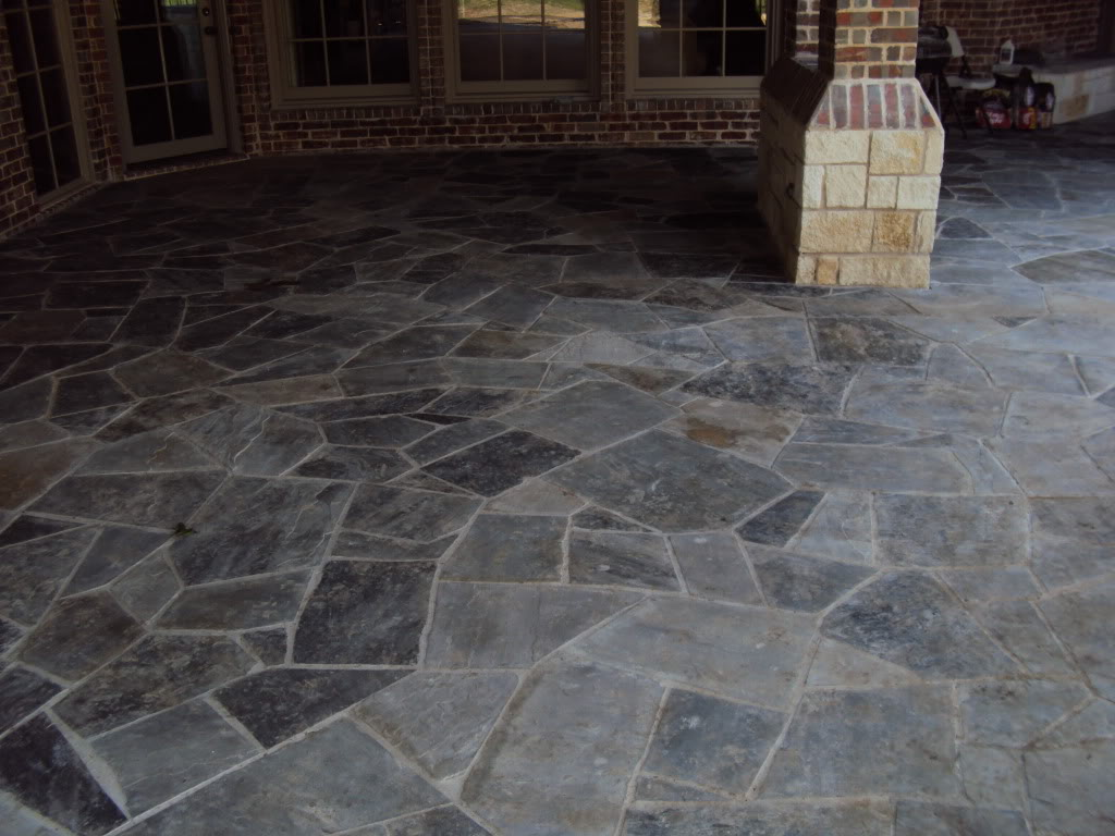 slate tiles for a patio photo - 9