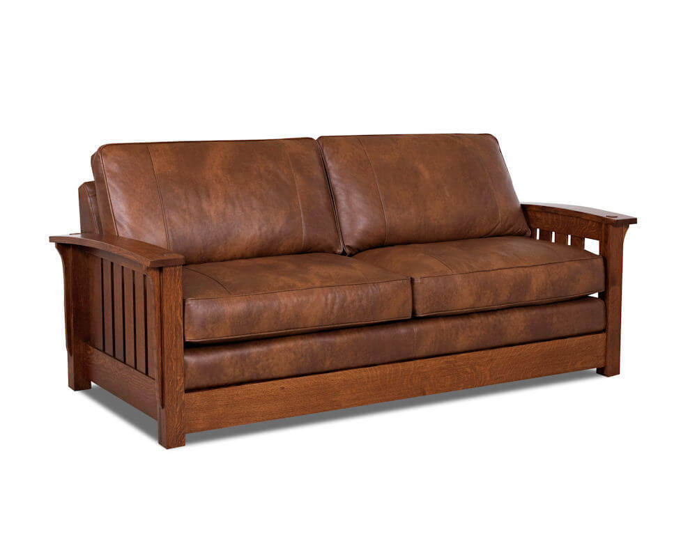sleeper sofa american leather photo - 3