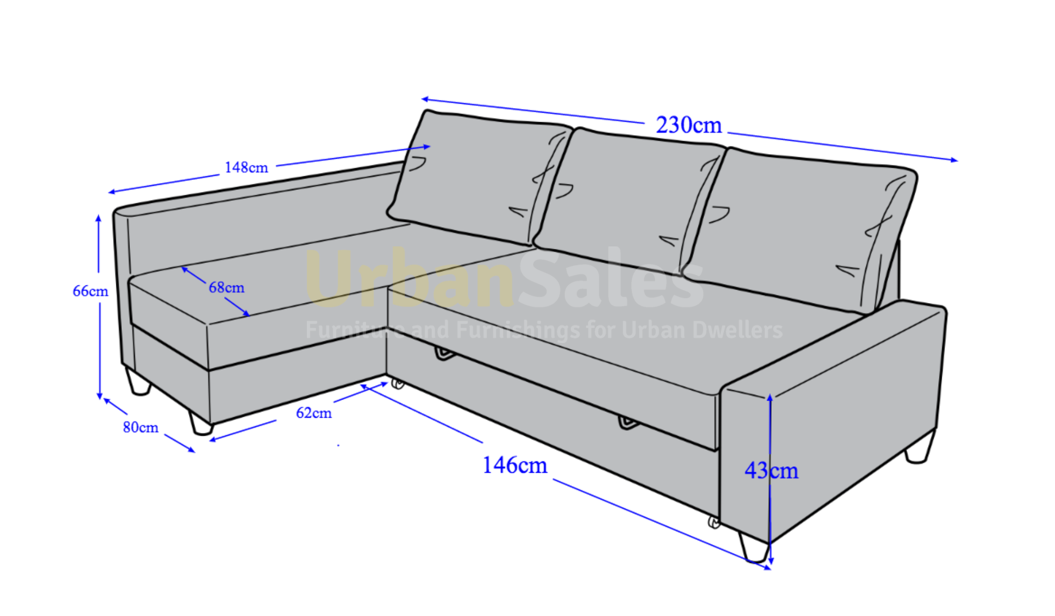 sleeper sofa dimensions photo - 7