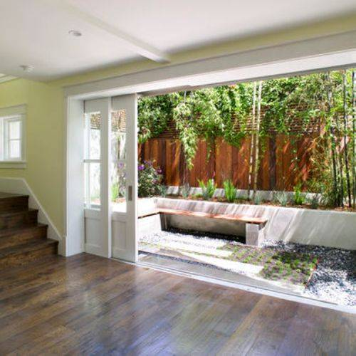 sliding pocket doors exterior photo - 3