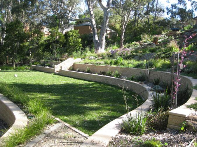 sloped garden plans photo - 10