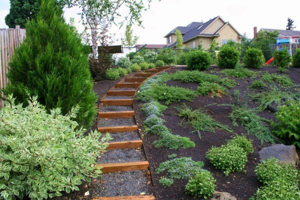 sloped garden plans photo - 9