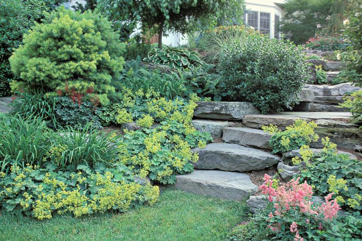 sloped rock garden ideas photo - 10