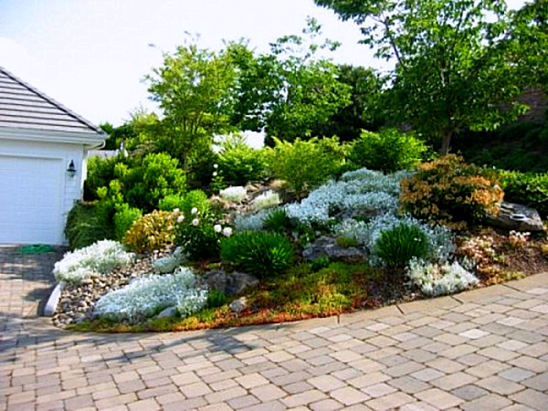 sloped rock garden ideas photo - 4