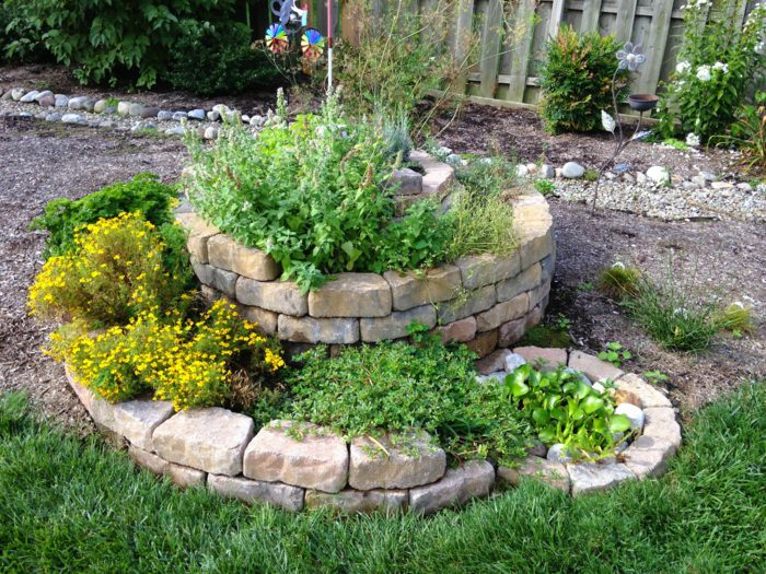 small easy herb garden photo - 10