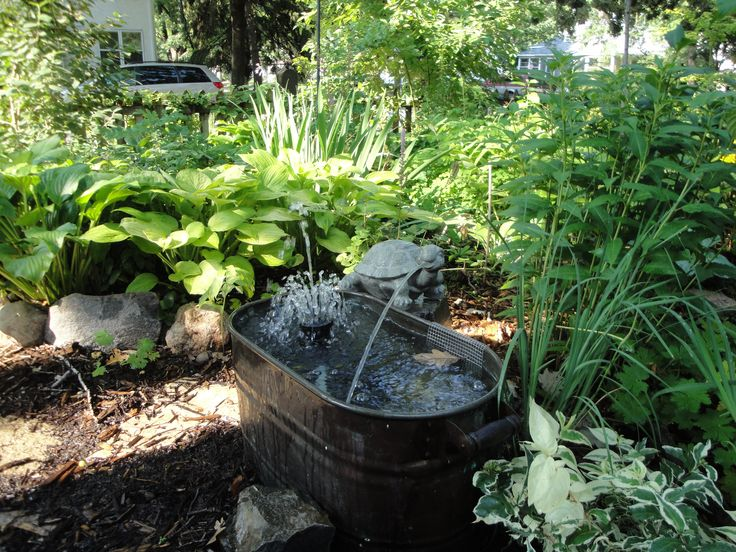 small garden fountains ideas photo - 2