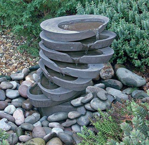 small garden fountains ideas photo - 6