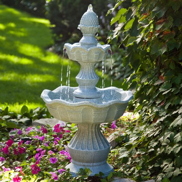 small garden fountains ideas photo - 8