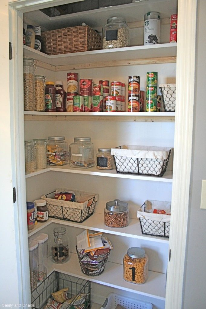 small pantry shelving systems photo - 10