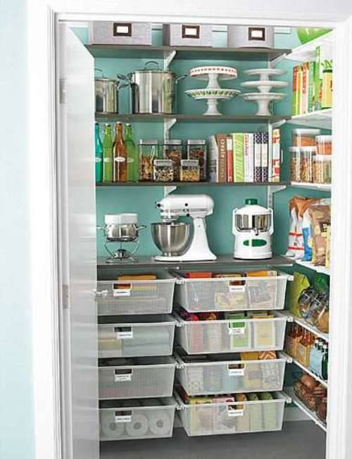 small pantry shelving systems photo - 4