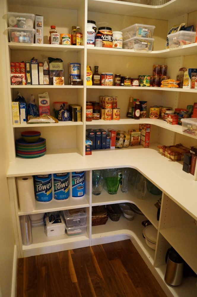 small pantry shelving systems photo - 5