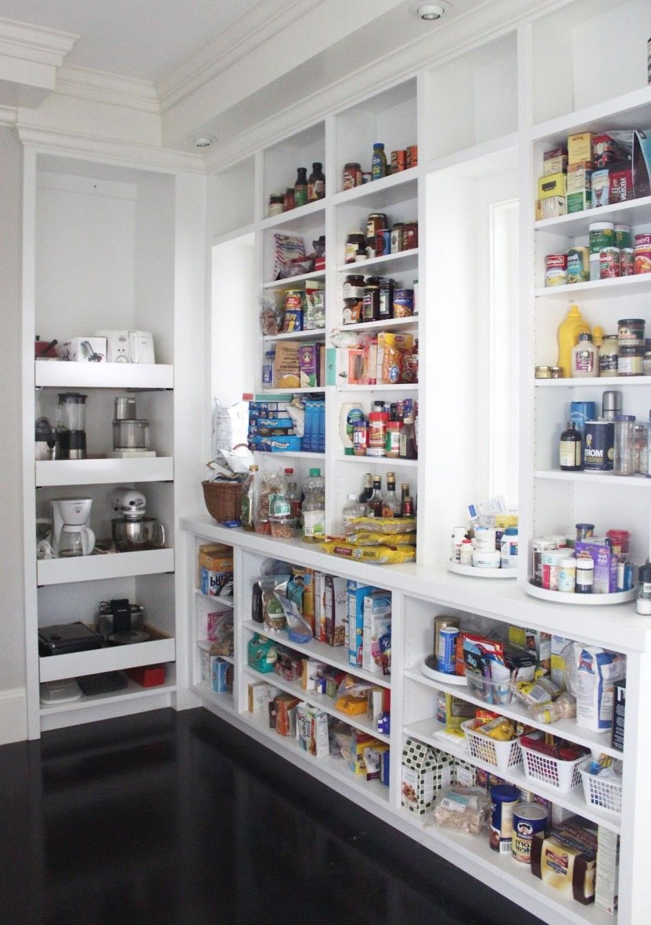 small pantry shelving systems photo - 8