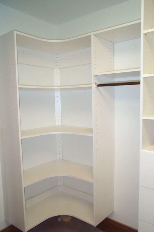 small walk in closet design layout photo - 3