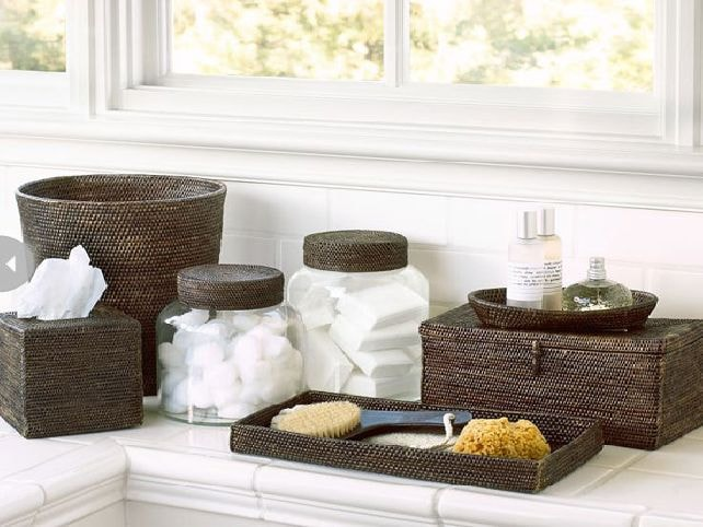 spa bathroom accessory ideas photo - 4