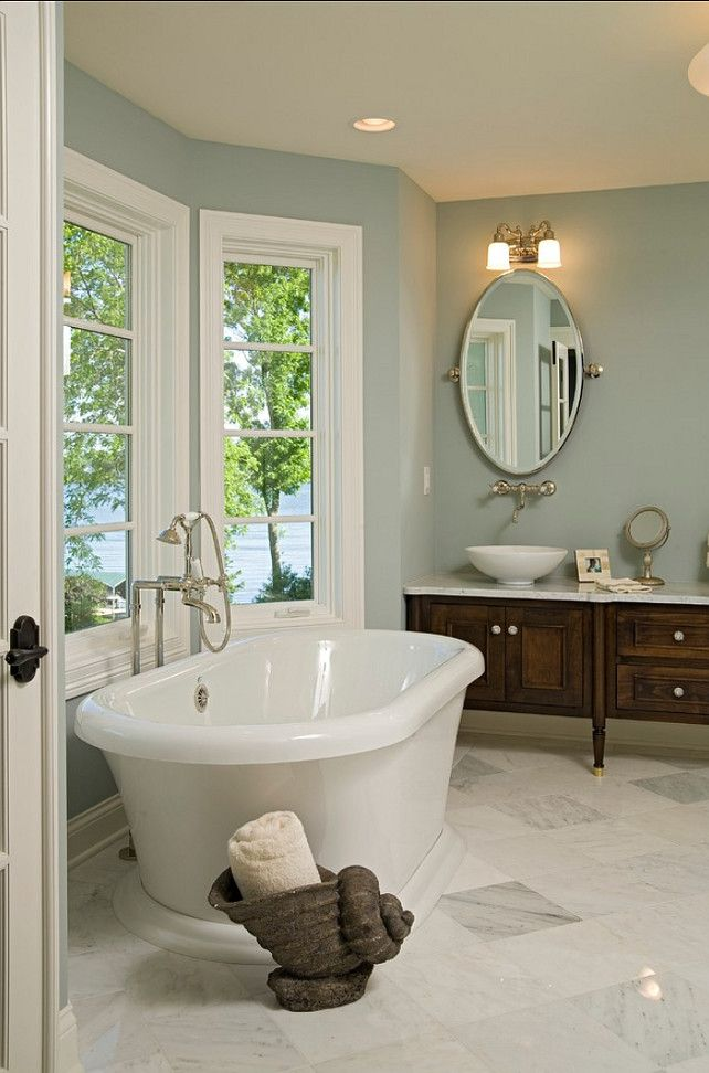 spa bathroom paint colors photo - 10