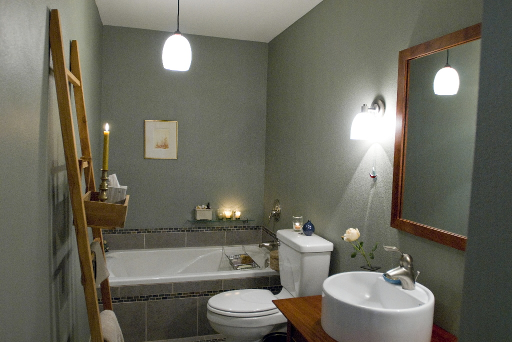 spa bathroom paint colors photo - 2
