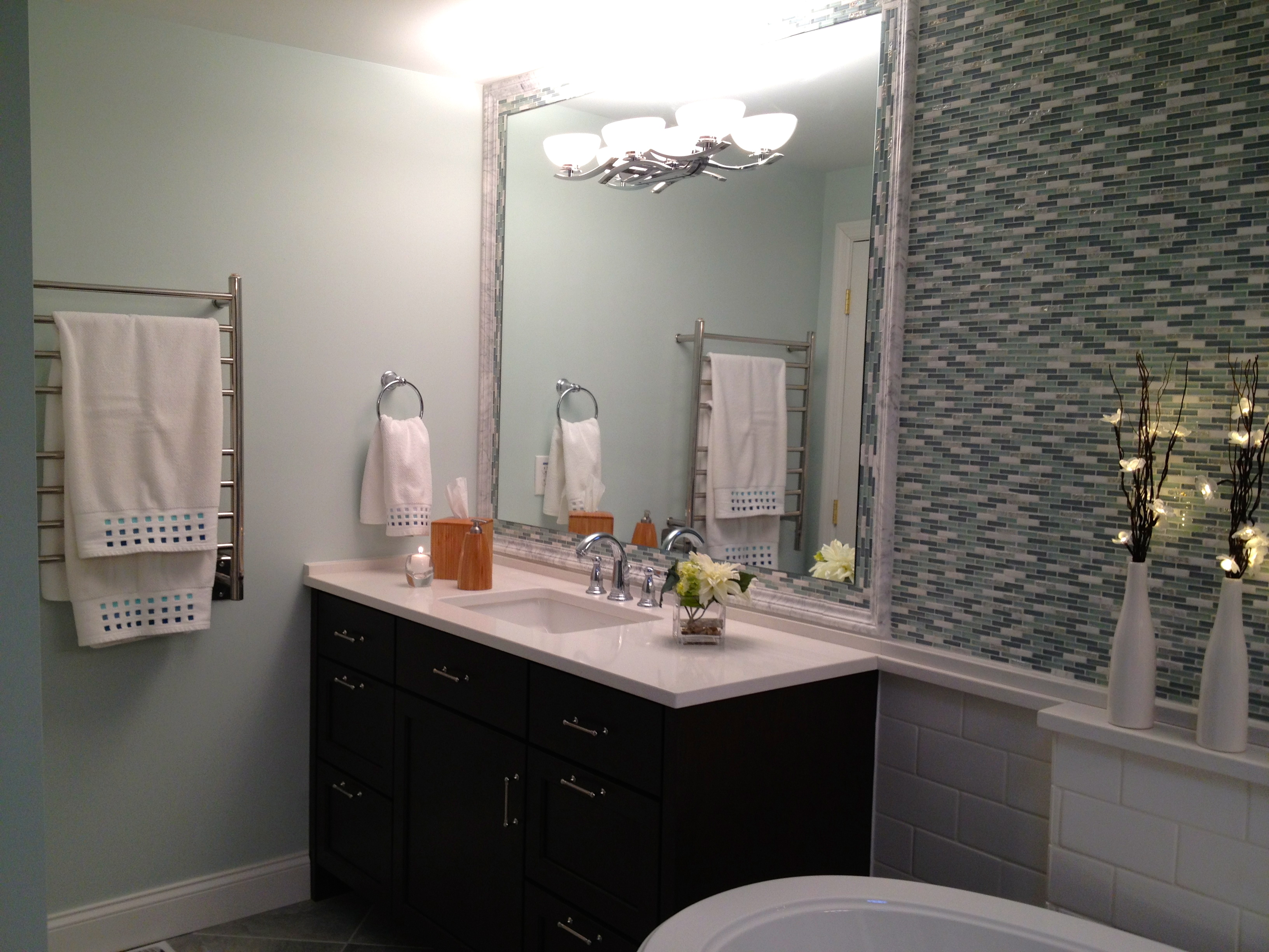 spa bathroom paint colors photo - 6