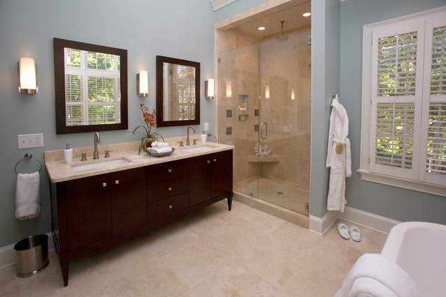 spa bathroom paint colors photo - 7