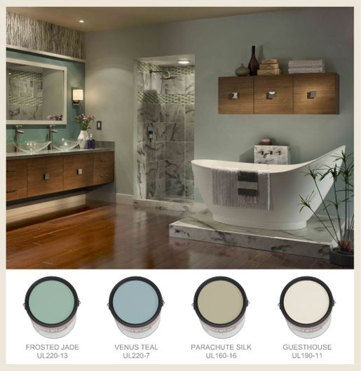 spa bathroom paint colors photo - 8