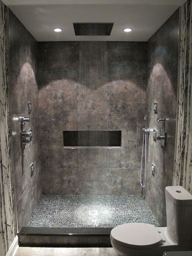 spa bathroom shower ideas photo - 3