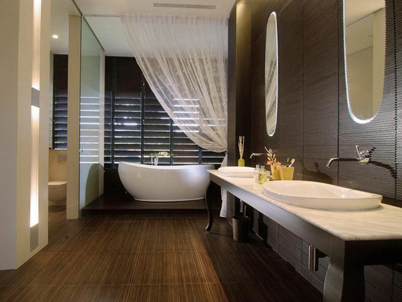 spa bathroom shower ideas photo - 4