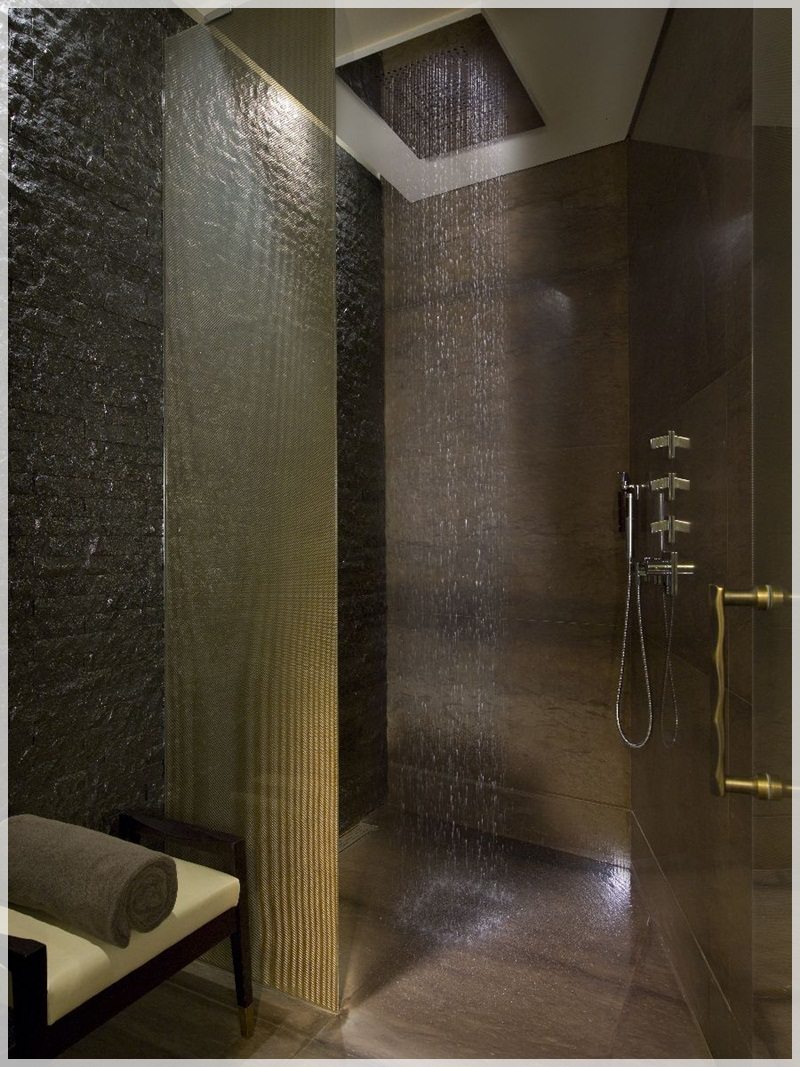 spa bathroom shower ideas photo - 7