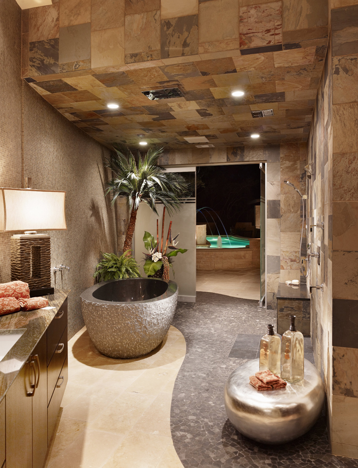spa bathroom shower ideas photo - 9