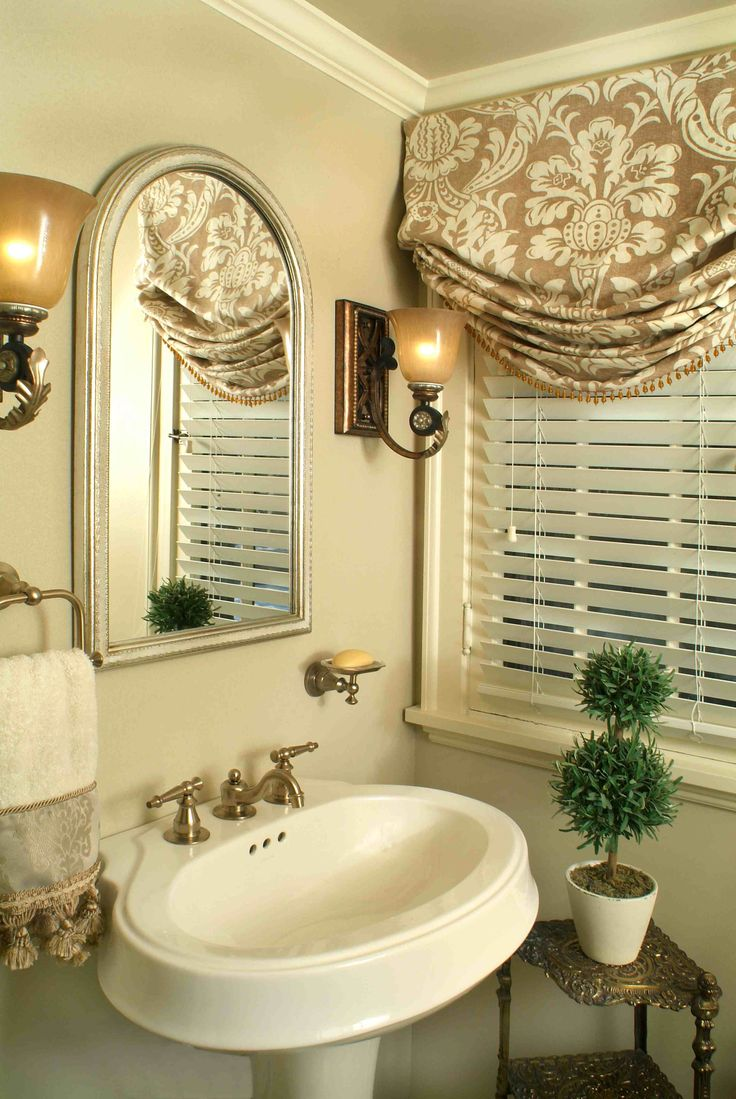 spa bathroom window treatments photo - 7