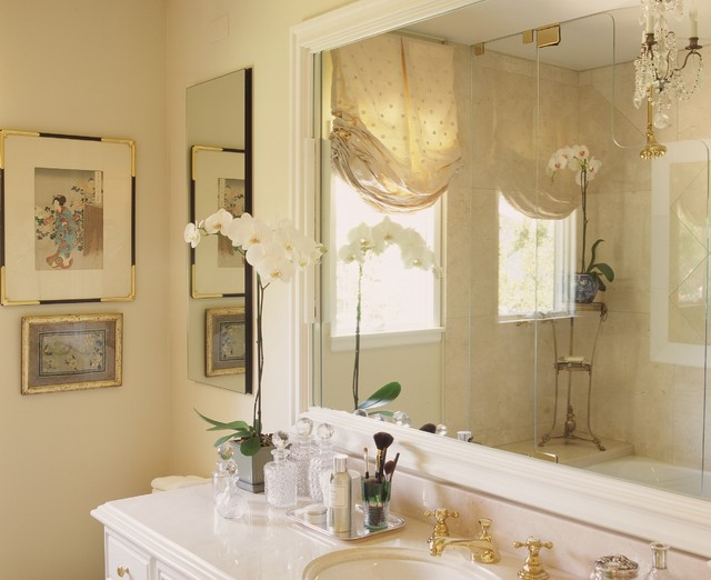 spa bathroom window treatments photo - 8