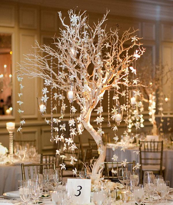 square dining table centerpiece photo - 8