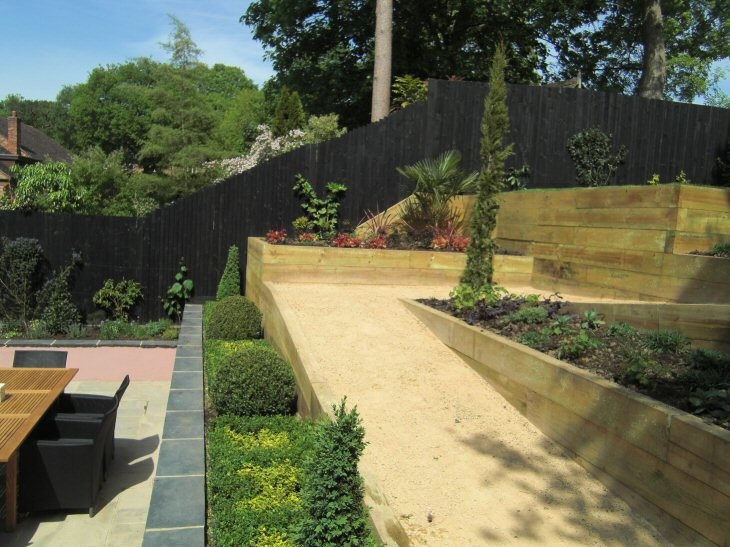 steeply sloping garden design ideas photo - 8