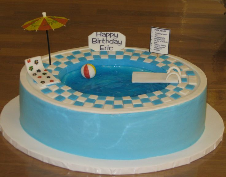 swimming pool birthday ideas photo - 9
