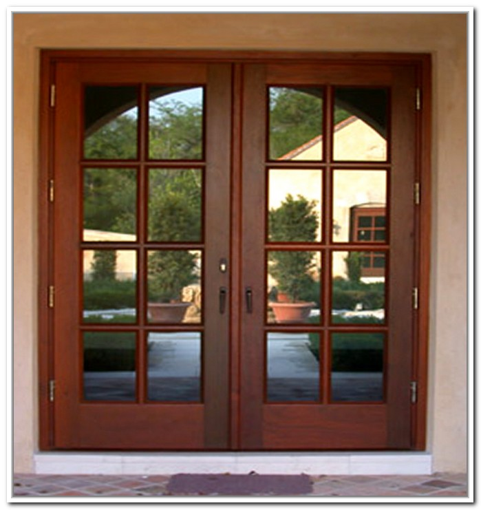 top rated exterior french door photo - 6