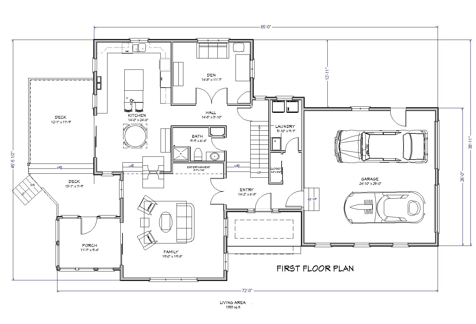 traditional 3 bedroom house plans photo - 6
