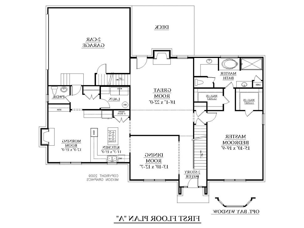 traditional 3 bedroom house plans photo - 9