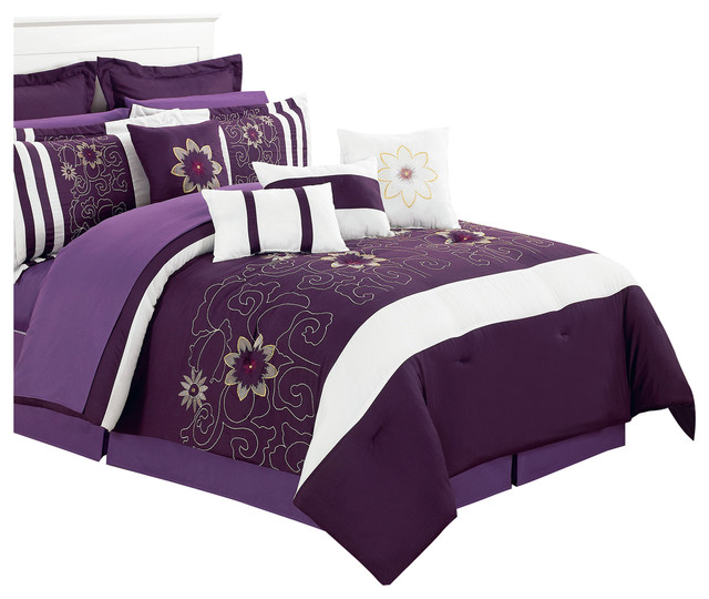 traditional bedroom comforter sets photo - 4
