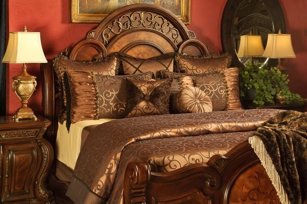 traditional bedroom comforter sets photo - 7