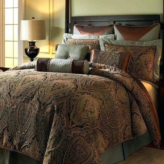 traditional bedroom comforter sets photo - 8