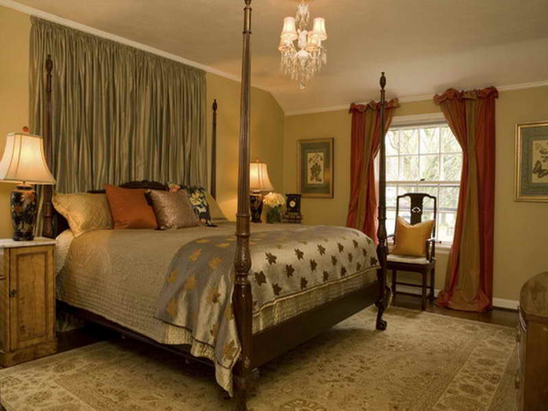 traditional bedroom decorating photo - 8