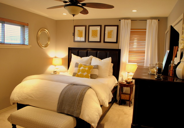 traditional bedroom decorating photo - 9